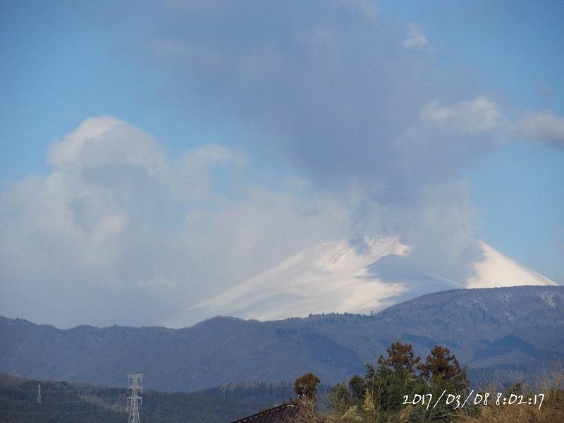 浅間山モクモク