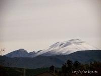 昨日の浅間山