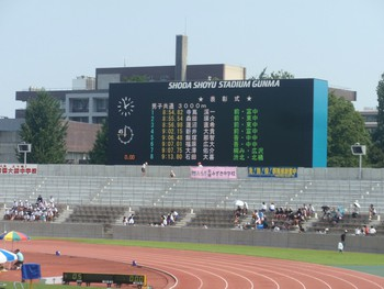 (7/30,31)群馬県総合体育大会(陸上競技)②