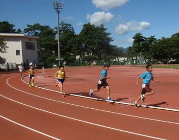 (9/17,20)小学生スクール、21回群馬県小学生陸上競技記録会
