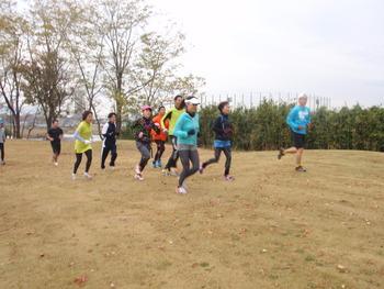 11/17(土)ファンランニングの風景写真