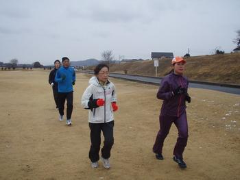 「はるな梅マラソン」ランニングクリニック3回目!