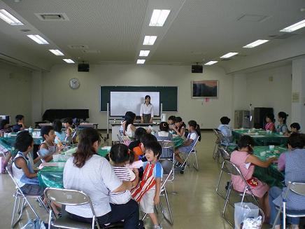 夏休み子供教室by下仁田