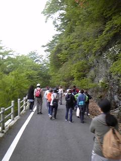 今日は上野村へ森林セラピーに行ってきました!