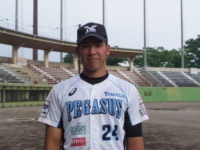 New Face #24 速水 隆成 選手