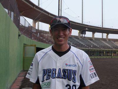 #30 菊地 和正 投手兼任コーチ