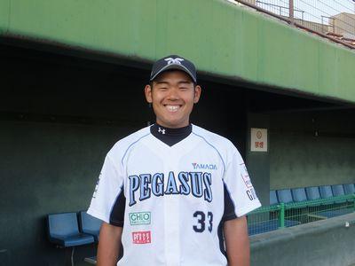 #33 永井 克弥 内野手