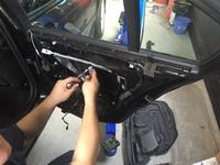 BMWの窓が開かない修理