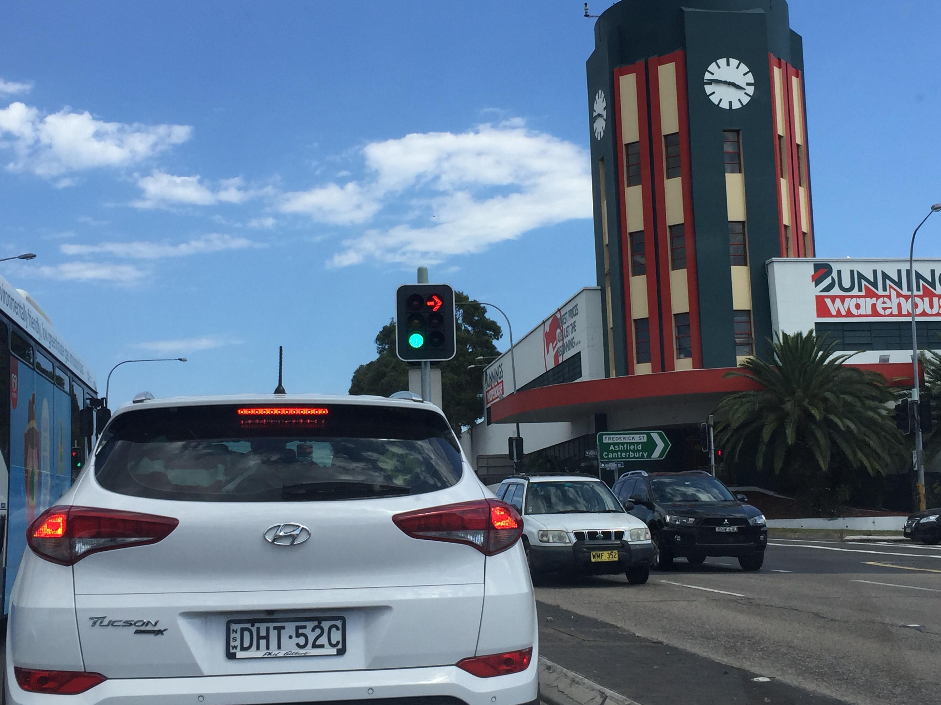 シドニー運転