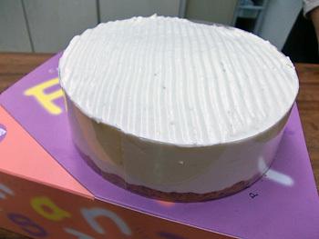 バナナとチョコレートのムースケーキ