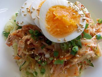 キムチサラダ麺