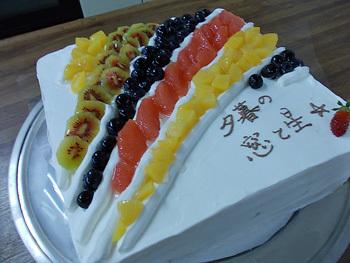 四季のフルーツケーキ