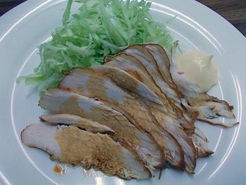 鶏の酢醤油煮