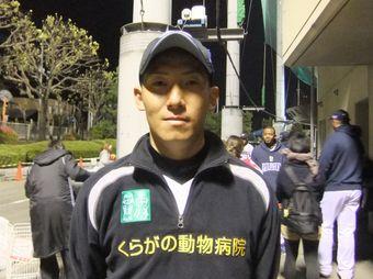 #14 北井 頌太投手