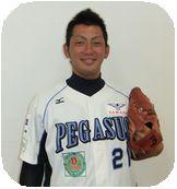 #21 清水 信寿 投手