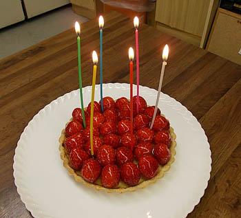 今日はGさんの誕生日