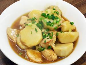 鶏と里芋の中華煮