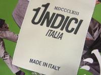 UNDICI(ウンディッチ)   MADE IN ITALY