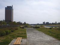 利根川サイクリングコース!