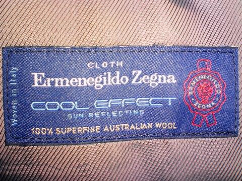 セールでZegna COOL EFFECT!
