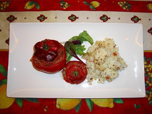 トマトファルシ