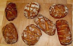 個性的なパンたち