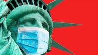米国で23日、1日あたりのコロナ新規感染者が8万4218人