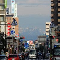 今朝の谷川&浅間