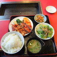 朝飯で昼飯(笑) Aランチ@朝鮮飯店高崎西口店