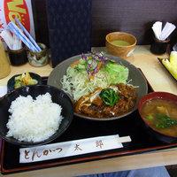 ランパスで超お得です。 豚肉のビール煮@とんかつ太郎上細井店