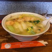 海老も野菜もたっぷりなえびそば 広ちゃん飯店@前橋