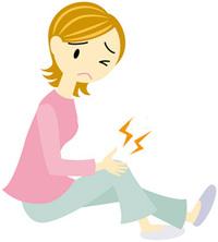ダンスで膝を痛めてしゃがむのが辛い・階段が辛い女性 3