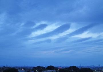 最近の雲 ♪