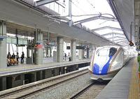 北陸新幹線「かがやき」に乗りました ♪