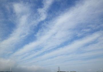 今日の雲♪