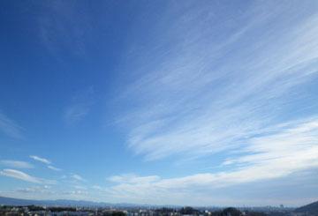 きょうの雲と彩雲 ♪
