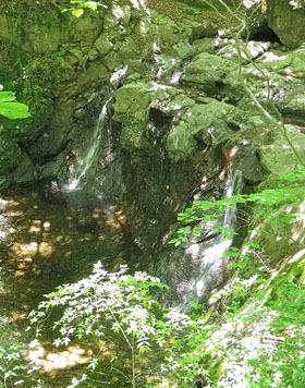 麻苧(あさお)の滝で癒されて・・・♪
