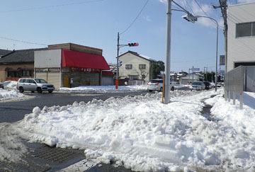 板鼻の雪風景 ♪