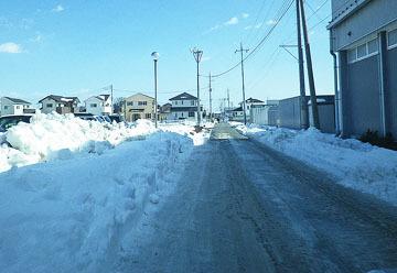 板鼻の雪風景(続) ♪
