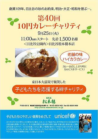日比谷公園「松本楼」10円カレー!!