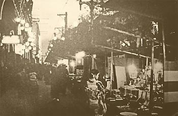 風化する高崎の街。