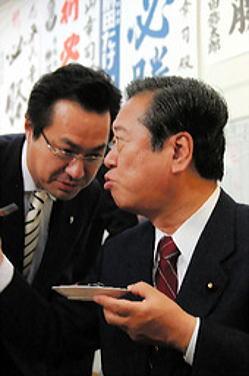 小沢逮捕という芝居。