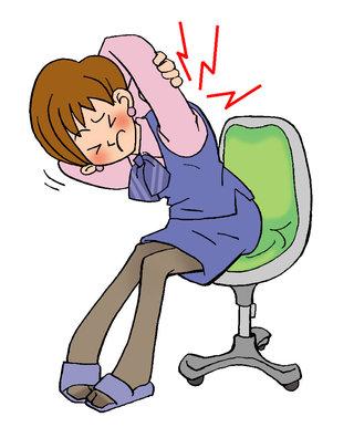 毎日のように痛み止めを飲む程の肩こり・頭痛のOLさん 3