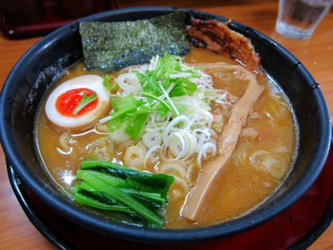 天下ご麺 水口店 海老味噌ラーメン@滋賀県甲賀市