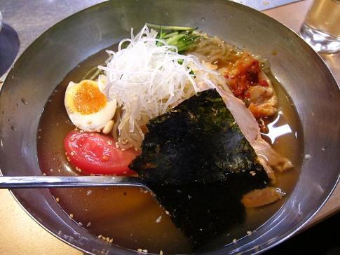 七輪炭火焼肉 味ん味ん 盛岡冷麺@神奈川県相模原市