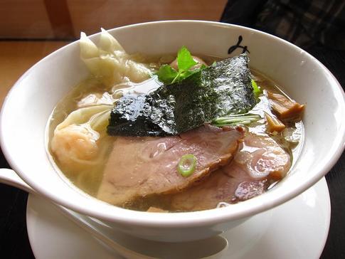 麺処 みどり わんたん麺(海老)@群馬県高崎市