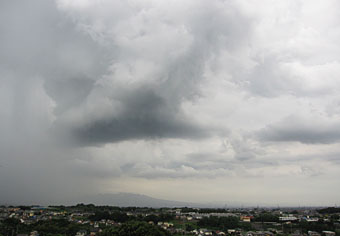 雨後の雲 ♪