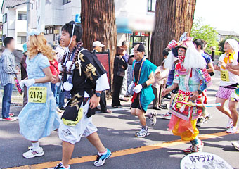 2012 安政遠足 侍マラソン ♪