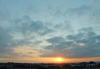 今朝の雲 ♪