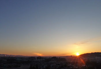立春の太陽 ♪